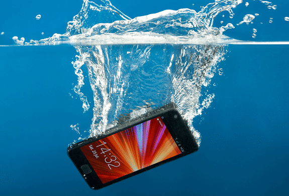 Dropped your cell phone in water? Solved!